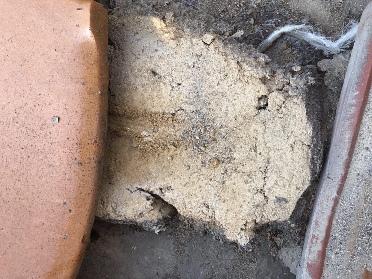 雨漏り葺き替え点検時の瓦下地