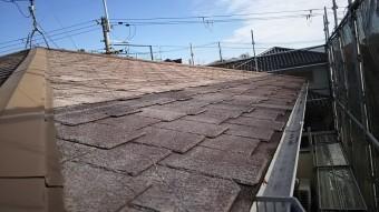 屋根 洗浄後