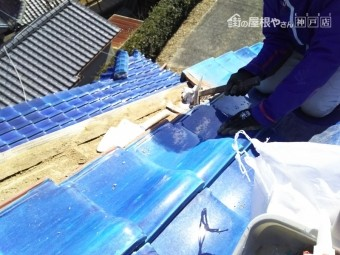 屋根補修工事 施工事例