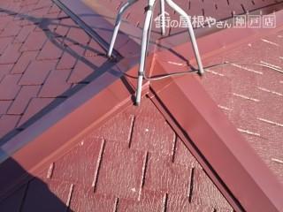 屋根塗装 塗装後