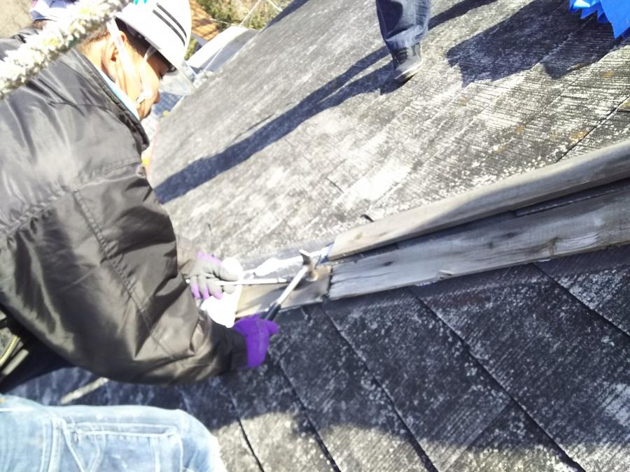 貫板の捲り
