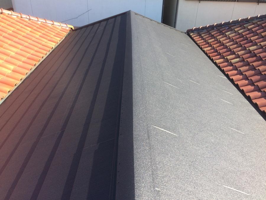 屋根葺き替え工事アフター