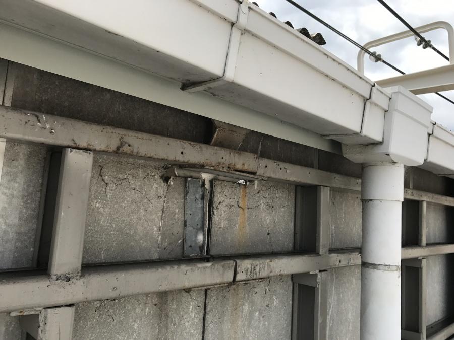 外壁の下地の状況