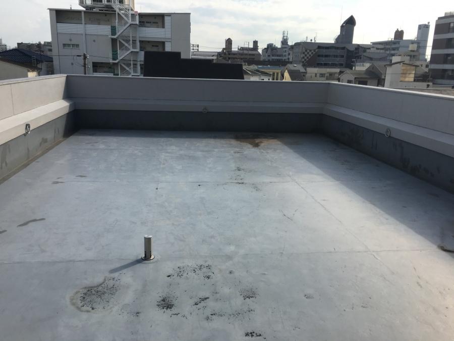 屋根の様子 陸屋根