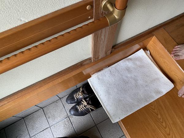 神戸市中央区 屋根修繕前 雨漏り箇所