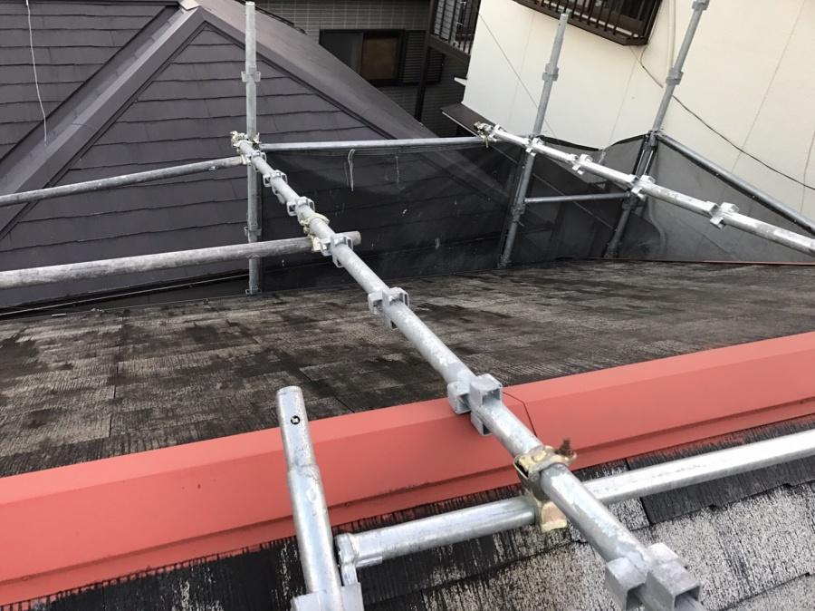 屋根塗装工事 サビ塗り
