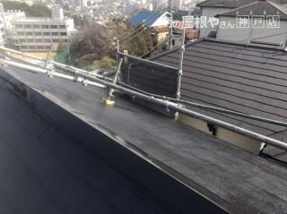 屋根塗装工事 大屋根施工後
