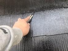 屋根塗装工事 縁切り