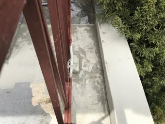 立上り部施工、乾くとこのような見た目になります!