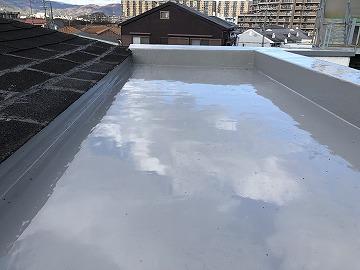 神戸市 ウレタン防水工事完了です