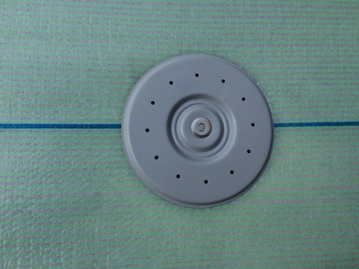 雨漏り防水工事時にUPディスク取付