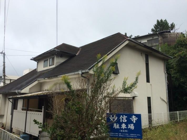 神戸市北区 スレートの脱落