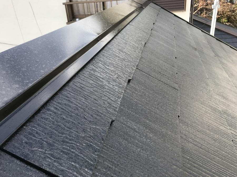 屋根塗装工事 大屋根完了