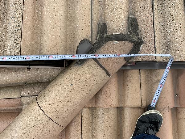 屋根修繕時の雨漏り箇所真上