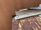 神戸市中央区 平屋の波板トタン屋根の捲れ調査。