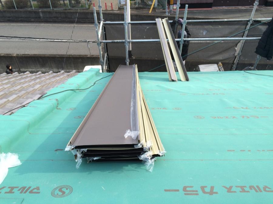 ガルバリウム鋼板の立平という屋根材