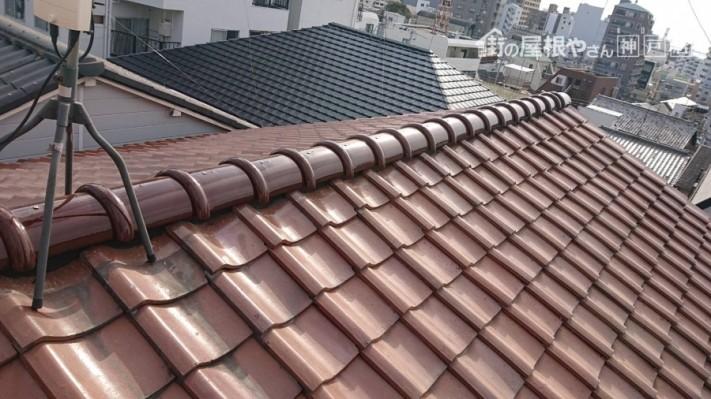神戸市中央区 防災棟完成