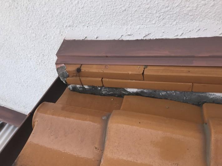 壁際の際熨斗の様子