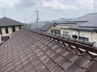神戸市北区 地瓦のズレ
