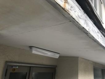雨漏り調査 庇の調査