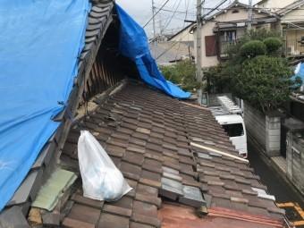 長田区 ガルバリウム鋼板製のタフワイド葺き替え