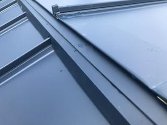 屋根の勾配の取り合い部