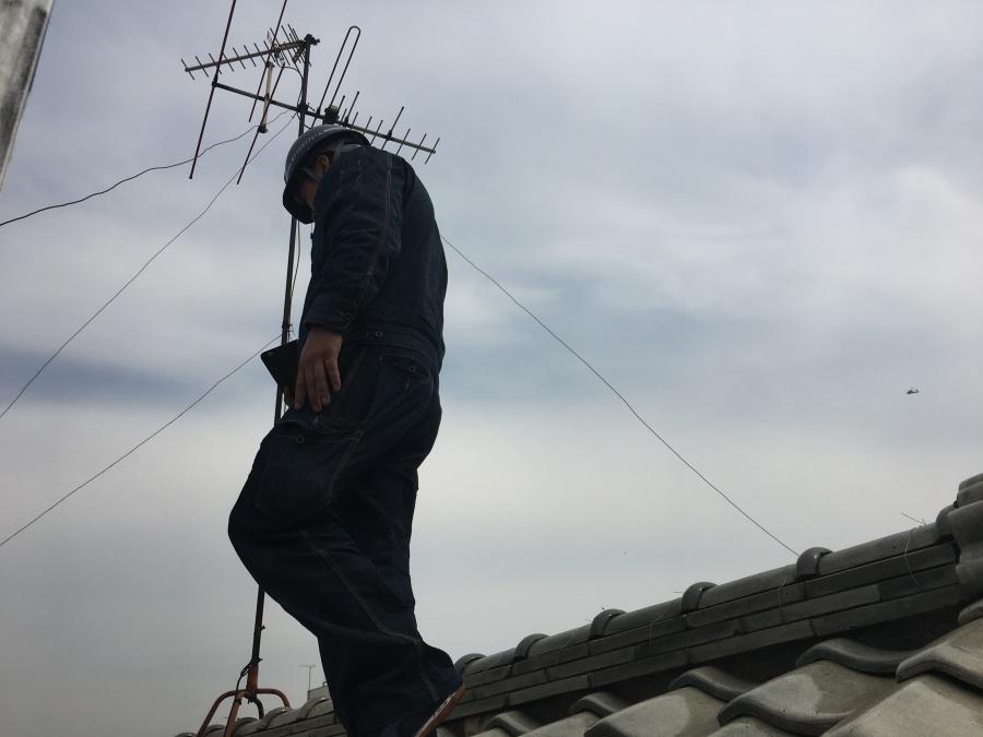 神戸市北区 ガルバリウム鋼板カバー工事!点検をおこないました