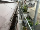神戸市北区 雨樋の脱落 工事前