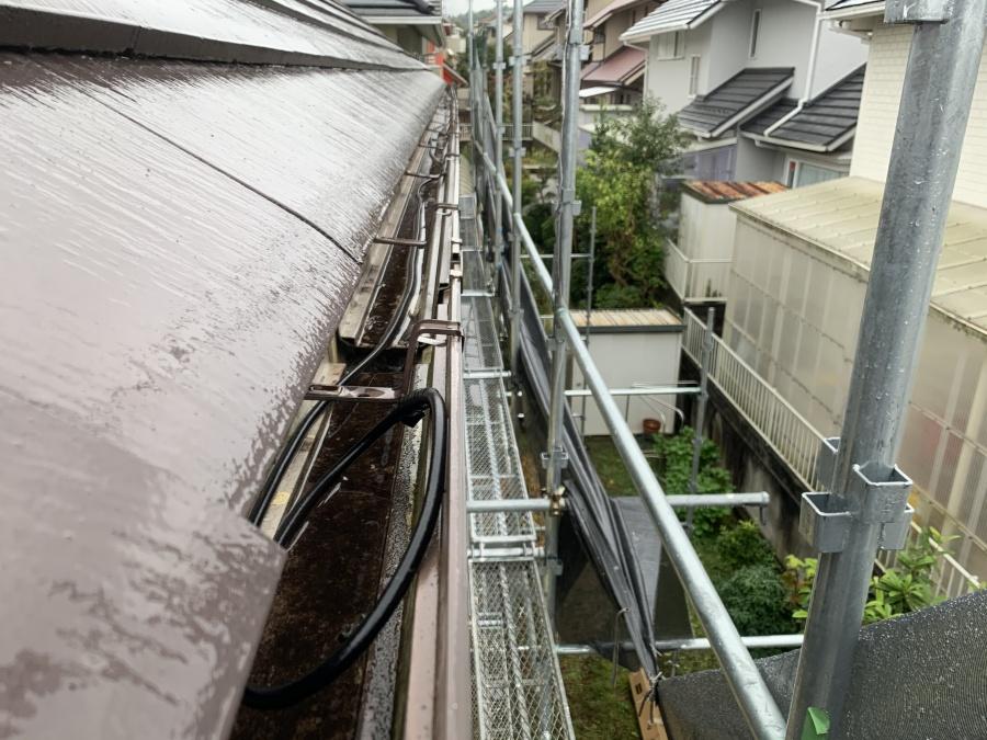 神戸市北区 雨樋交換!新しい鼻隠しと雨樋で快適なお住まいへ