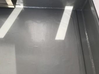 ウレタン防水工事完成