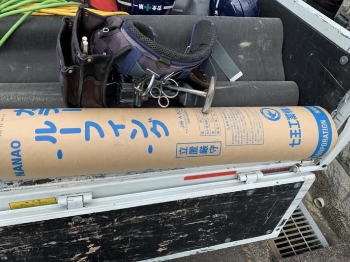 屋根工事時に使用 ルーフィング(防水シート)