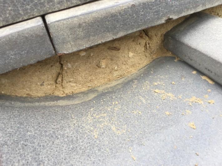 面戸の葺き土