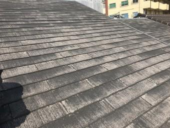 化粧スレート葺きの屋根