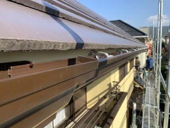 神戸市北区 雨樋の脱落 pc77取付
