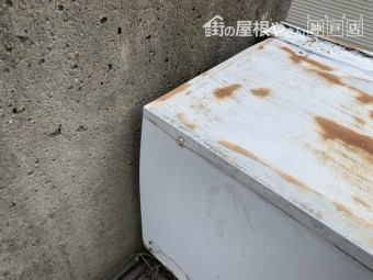 神戸市垂水区 シャッターbox養生