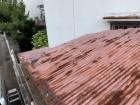 神戸市垂水区 トタン波板葺き屋根