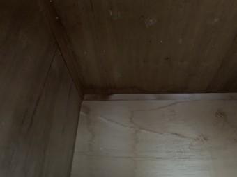 雨漏り調査 冷蔵庫裏の雨漏り箇所