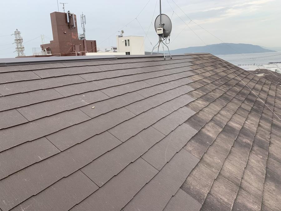 屋根リフォームで屋根部分葺き替え完成