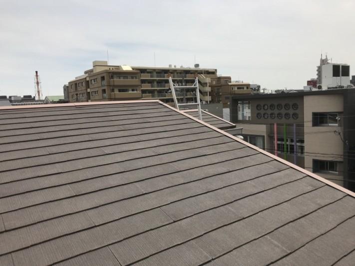 屋根リフォーム前カラーベスト屋根