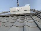 神戸市西区 瓦屋根調査 太陽光温水器の様子