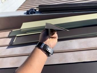 ガルバリウム鋼板製の材料、唐草板金