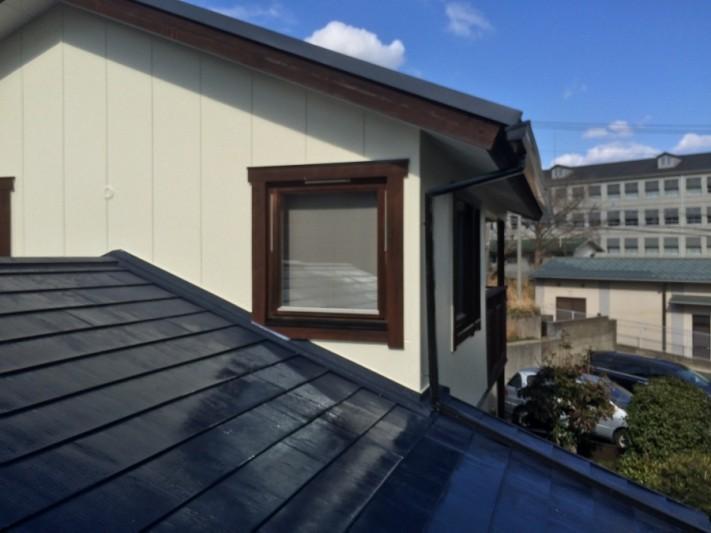 屋根工事・塗装工事完成