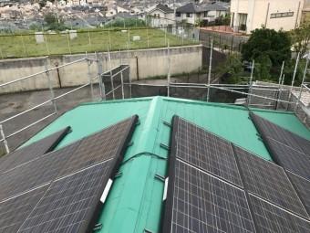 太陽光パネル復旧して完了!