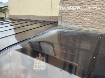 神戸市北区テラスからの雨漏り