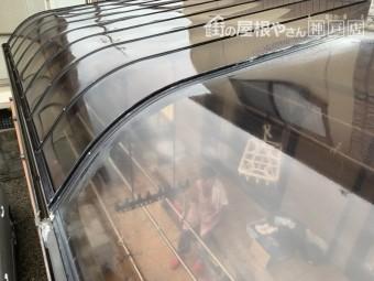 神戸市北区テラスからの雨漏り テラス現状