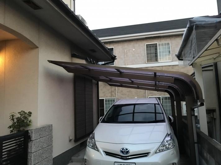 カーポート屋根工事前点検