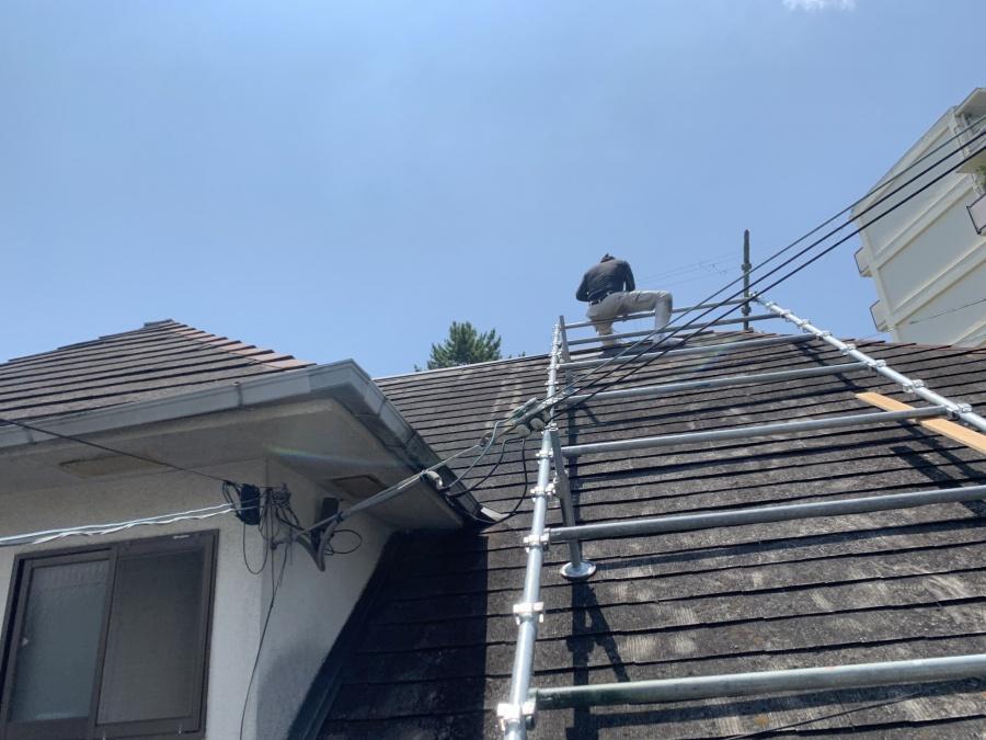神戸市北区 屋根補修工事を行いました!