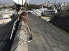 カラーベスト葺きの屋根