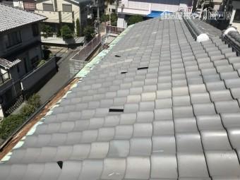 銅板葺きの屋根