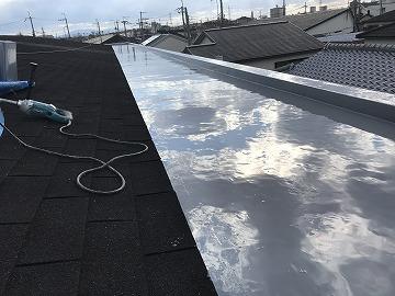 ウレタン防水工事 施工完了